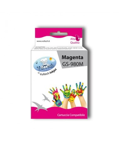 Cartuccia Compatibile  GS-980M Magenta (LC1100 LC980)