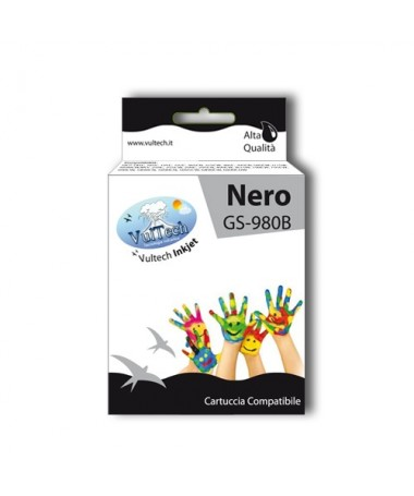 Cartuccia Compatibile  GS-980B Nero  (LC1100 LC980)