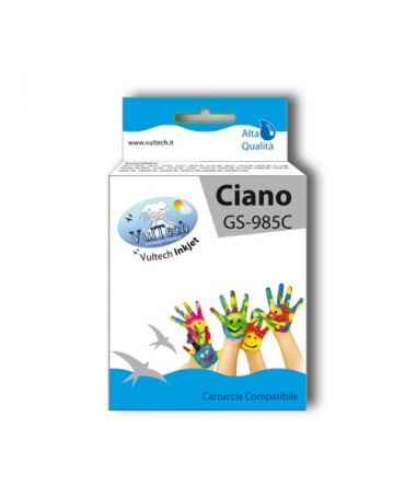 Cartuccia Compatibile  GS-985C Ciano (LC985)