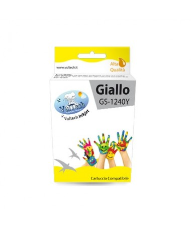 Cartuccia Compatibile  GS-1240Y Giallo (LC-1240)