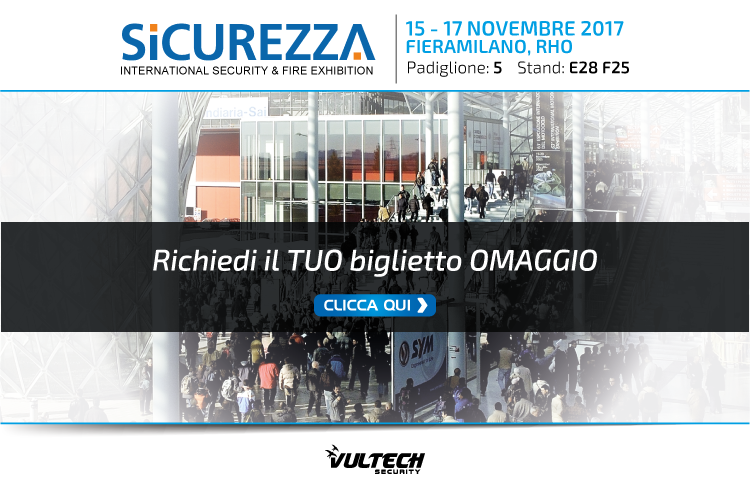 Fiera Sicurezza Milano - VulTech Security