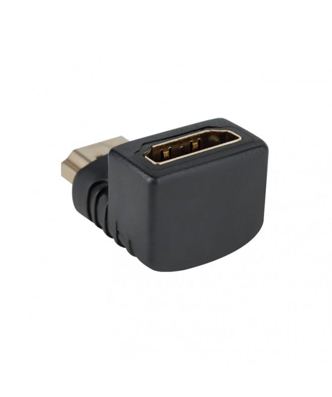 Adattatore HDMI Maschio to HDMI Femmina 90 Gradi