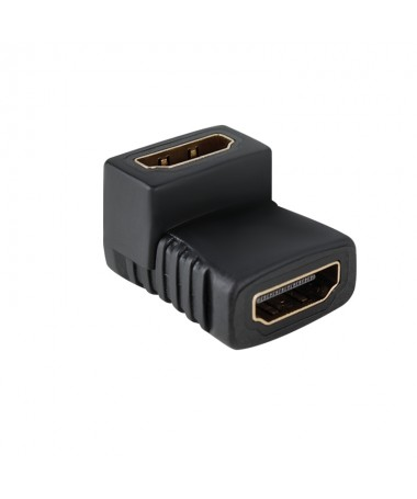 Adattatore Prolunga HDMI Femmina to HDMI Femmina 90 Gradi