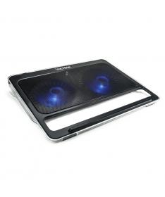 """Supporto per Notebook fino a 17"""" con 2 ventole e porte USB"""