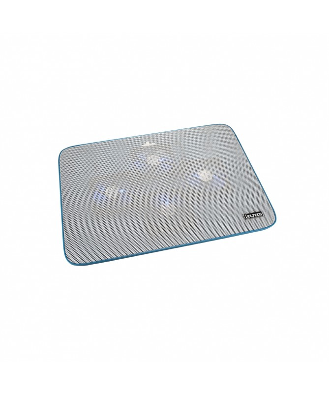 "Supporto per Notebook 15.6"" con 4 ventole e porte USB - Blu"