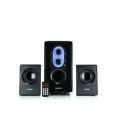 Casse acustiche 2.1 25W RMS USB - SD - FM - Remote Control