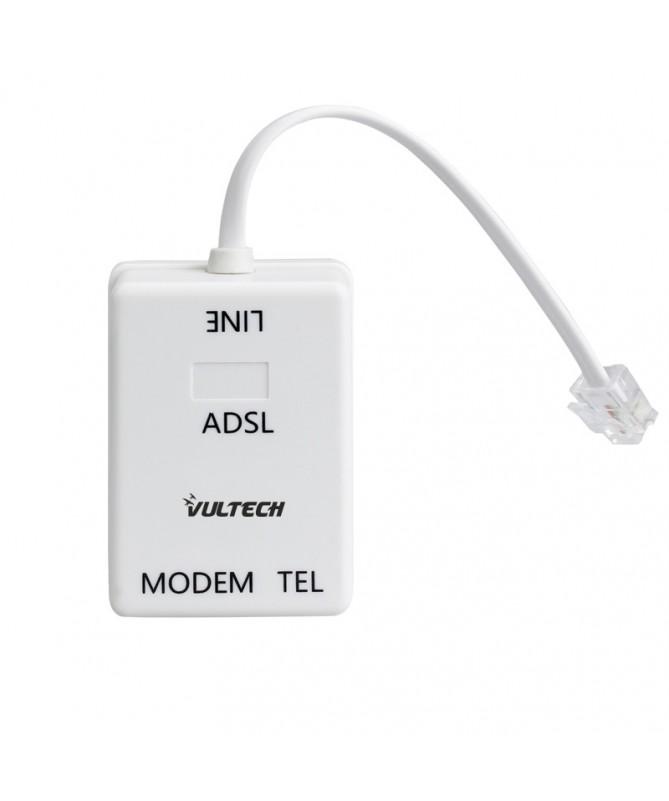 Filtro Adsl RJ-11 Tel/Fax