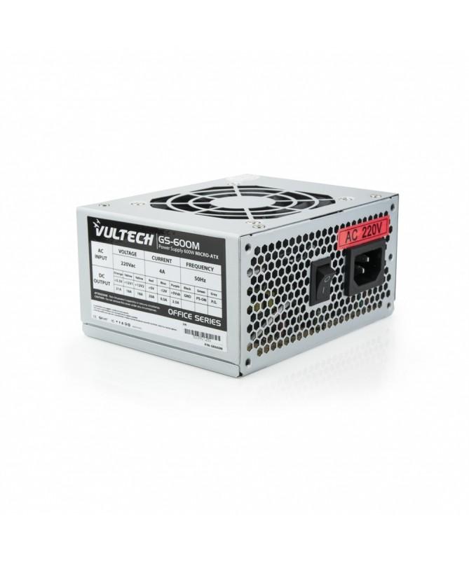 Alimentatore GS-600M Micro-Atx Bulk