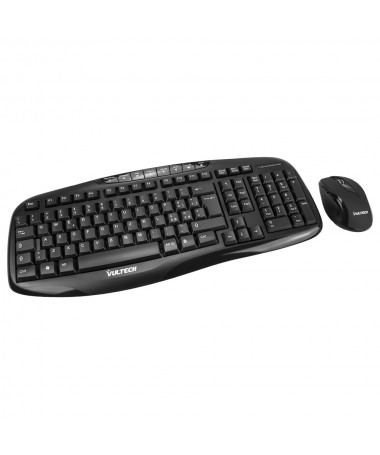 Kit tastiera e mouse Wireless 1000DPI 2.4GHz