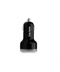 Caricatore da auto con doppia uscita USB (Max 2.1 A)