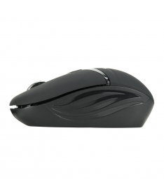 Wireless Micro Optical Mouse 1600Dpi USB 2.0 - Black