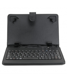 """Custodia con tastiera Italia per Tablet 10"""" con attacco USB"""