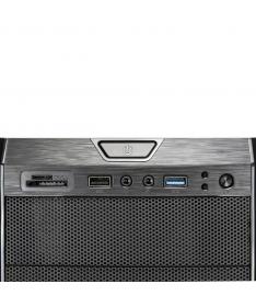 Case Gaming Atx GS-0485BL BlackDoom con ventole HALO LED Blu
