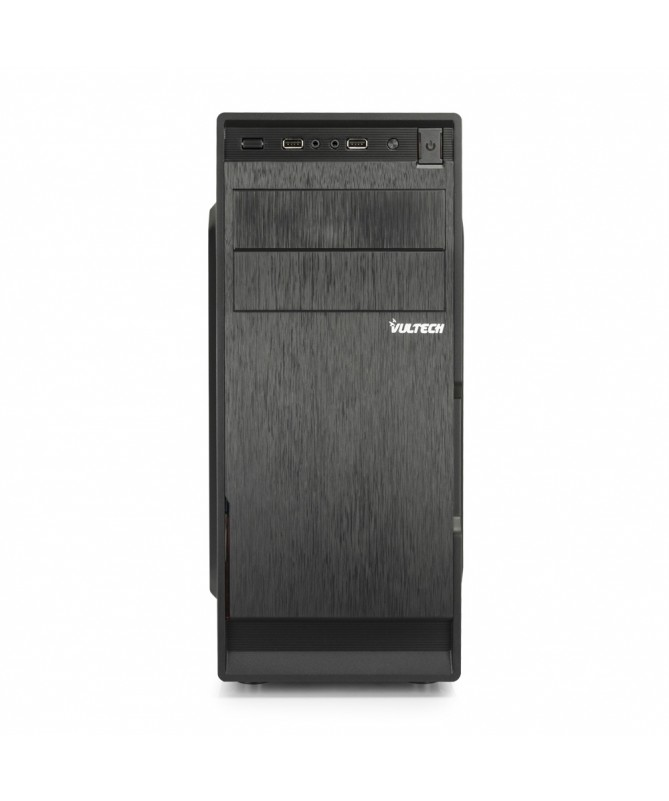 Case Middle Tower - 2 USB 2.0 + Hd audio + 500W