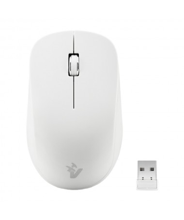 Mouse Ottico Wireless 1000 Dpi 2.4 Ghz - Bianco