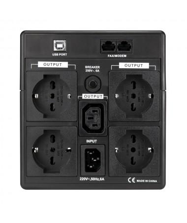 UPS 2000VA Line Interactive LCD - Gruppo di Continuità