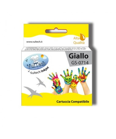 Cartuccia Compatibile  GS-0714 Giallo (T0714)