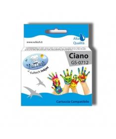 Cartuccia Compatibile  Ciano (T0712)