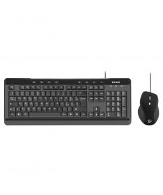 Kit tastiera e mouse con filo USB