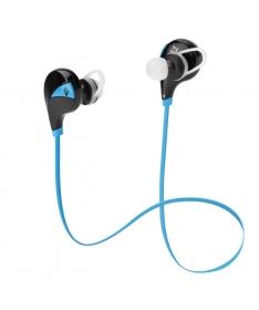 Auricolari Bluetooth v4.0 in-ear wireless con microfono - Blu