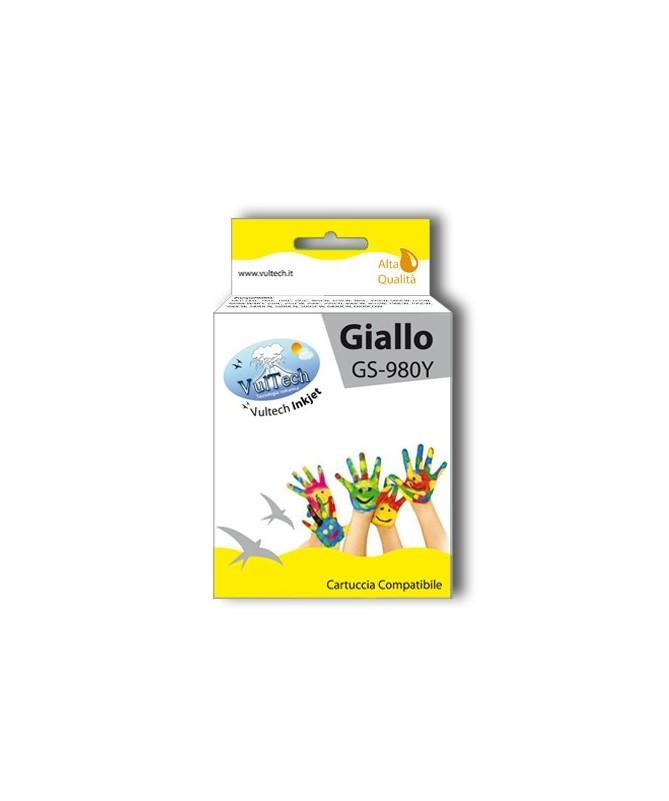 Cartuccia Compatibile  GS-980Y Giallo (LC1100 LC980)