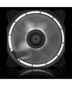 Ventola da 120mm con illuminazione HALO LED - Bianco