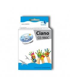 Cartuccia Compatibile  GS-980C Ciano (LC1100 LC980)