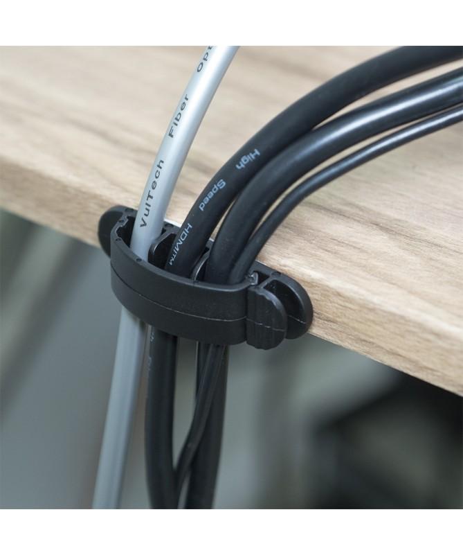Porta cavi da scrivania - 10 pz