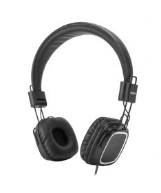 Cuffie Headphone con microfono - Nero