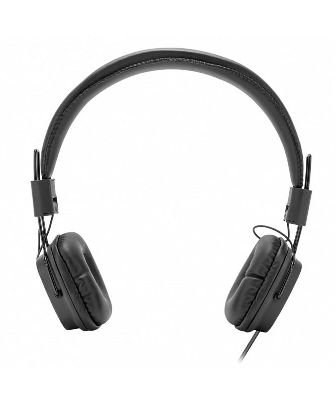 Cuffie Headphone con microfono - Nero