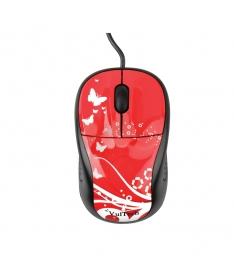 Mini mouse ottico USB 2.0 1000Dpi - Rosso