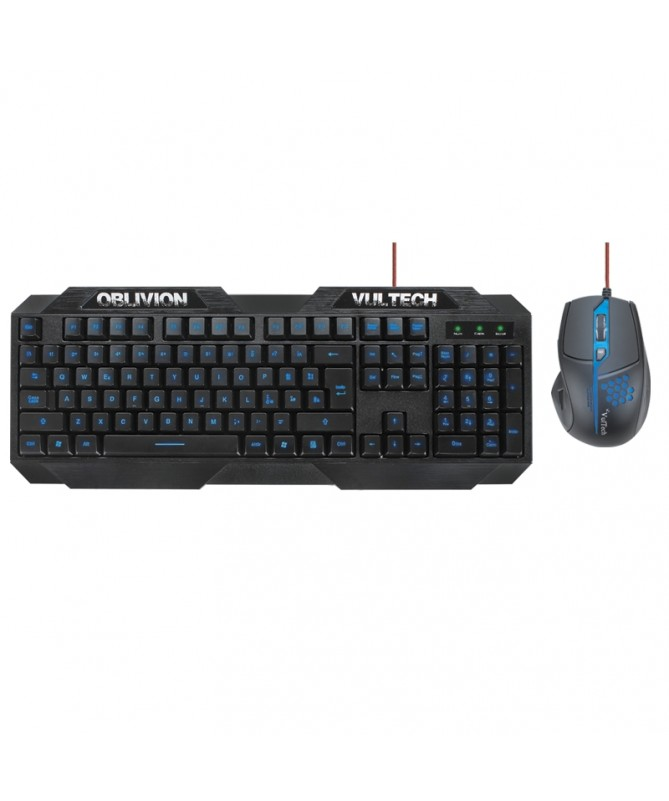 Kit Tastiera e Mouse Gaming Oblivion KM-960C