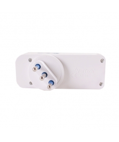 Adattatore Tripolare con 2 USB - Max 2A (1+1A)