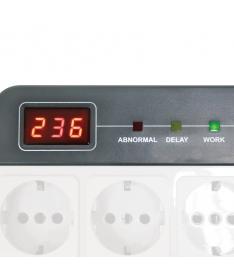 Stabilizzatore di Tensione AVR 1000VA 4 Schuko LCD